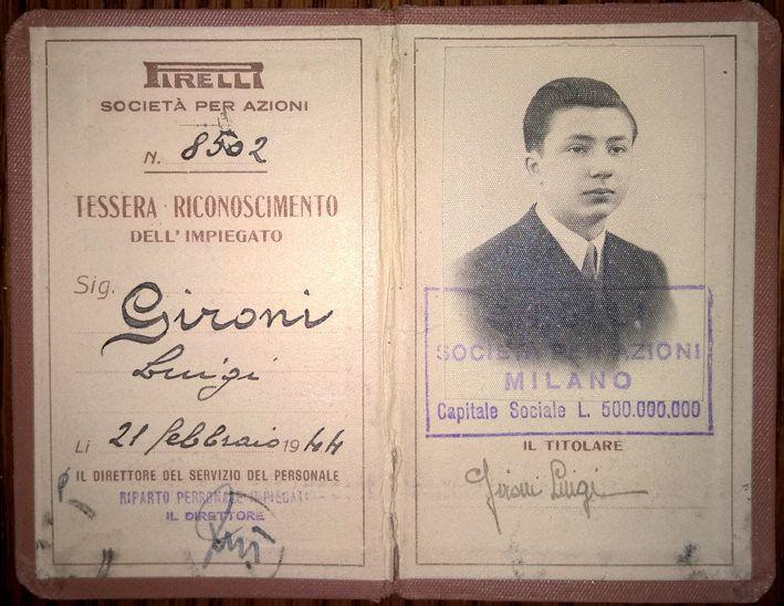 Luigi Gironi, un lucido testimone del tempo degli scioperi antifascisti alla Pirelli