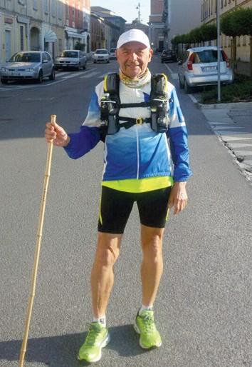 Nicola Caggiano da Forlì a Niguarda di corsa!
