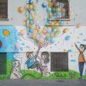 lI grande murales di via Melchiorre Gioia 2