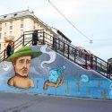 Sea, appassionato artista di strada da quando era piccolo