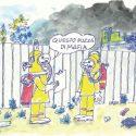 Incendio al deposito di rifiuti di Bruzzano. Nessun rischio per la salute pubblica. Ma…