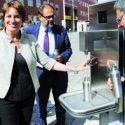 Bicocca Nuova: inaugurata la ventesima Casa dell'Acqua comunale