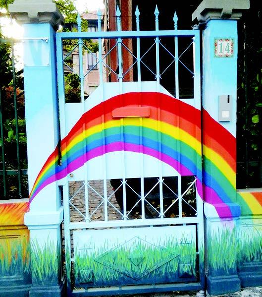 """Buone vacanze con l'arcobaleno """"portafortuna""""!"""