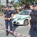 La Polizia Locale a Genova dopo il crollo del ponte