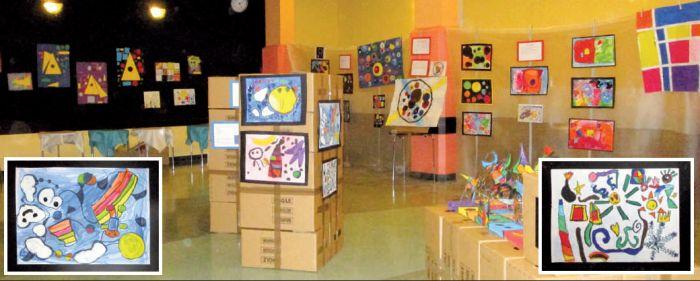 """In mostra """"i bambini che incontrano l'arte"""""""