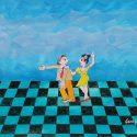 """""""Danze, balli e canti"""" la più allegra e colorata fatica di Gero Urso alla galleria Art Action"""