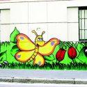 I murales verdi di Affori
