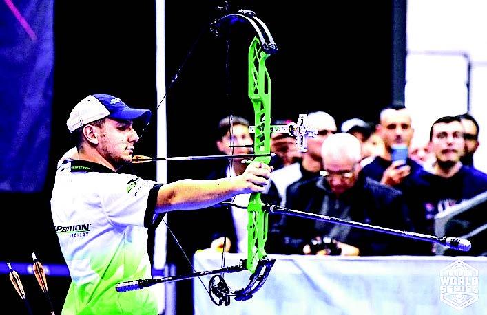 Valerio Della Stua secondo nella coppa del mondo indoor di tiro con l'arco