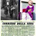 """Gli strilloni di piazza della Scala: """"È nato il Corriere della Sera""""!"""