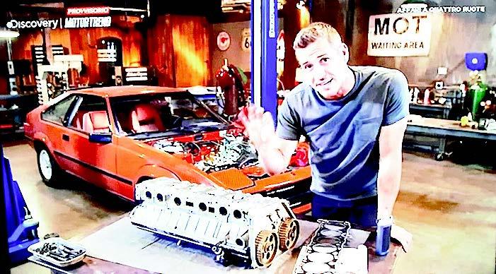 Le auto che passione! Anche in tv
