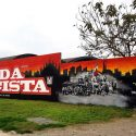 Restaurato il grande murale di Niguarda
